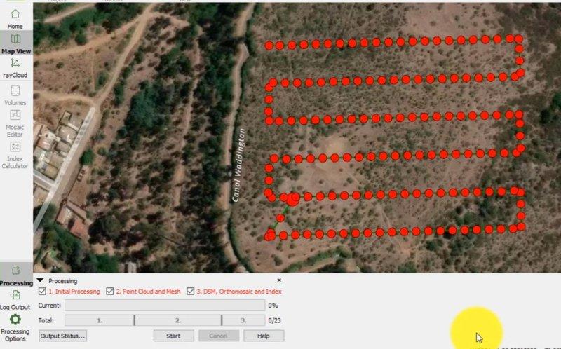 6. Curso de Procesamiento de Imágenes con Pix4DMapper