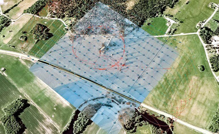 ventajas de los mapas hechos con drones