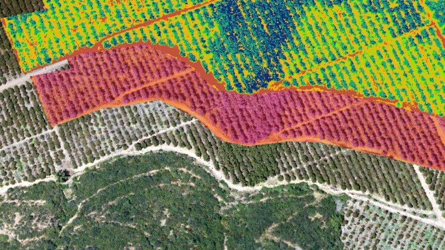 Para qué sirven los mapas hechos con drones