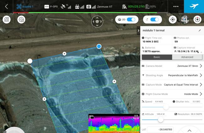 Etapas para hacer mapas con drones - planificación