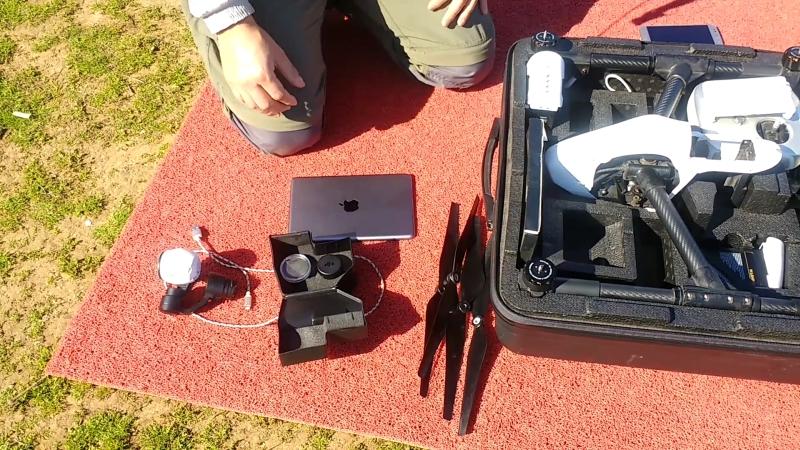 Etapas para hacer mapas con drones - preparación