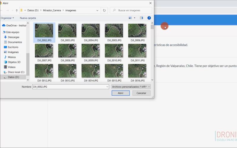 60. Cómo crear el primer proyecto en OpenDroneMap